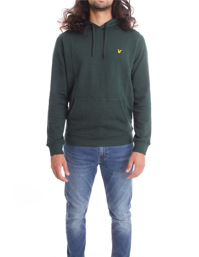 LYLE & SCOTT Vintage  Sweatshirt ML416VTR English green