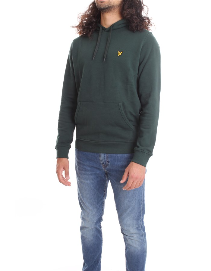 LYLE & SCOTT Vintage Sweatshirt English green