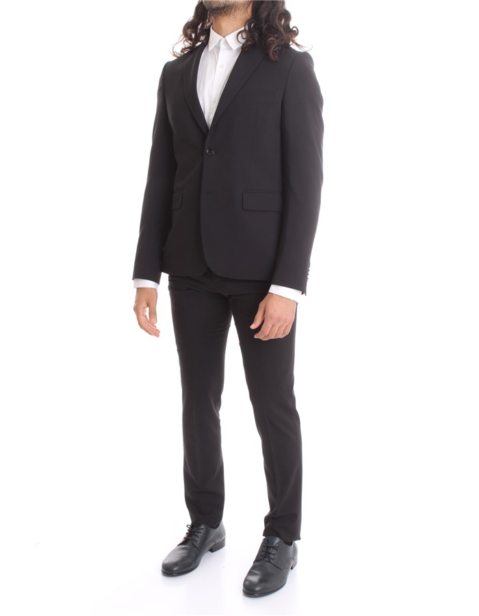 HAVANA & CO Single-breasted suits Black