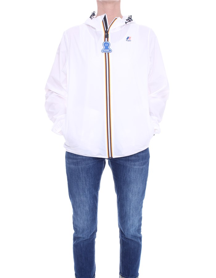 KWAY Jackets Short K004BD0 White