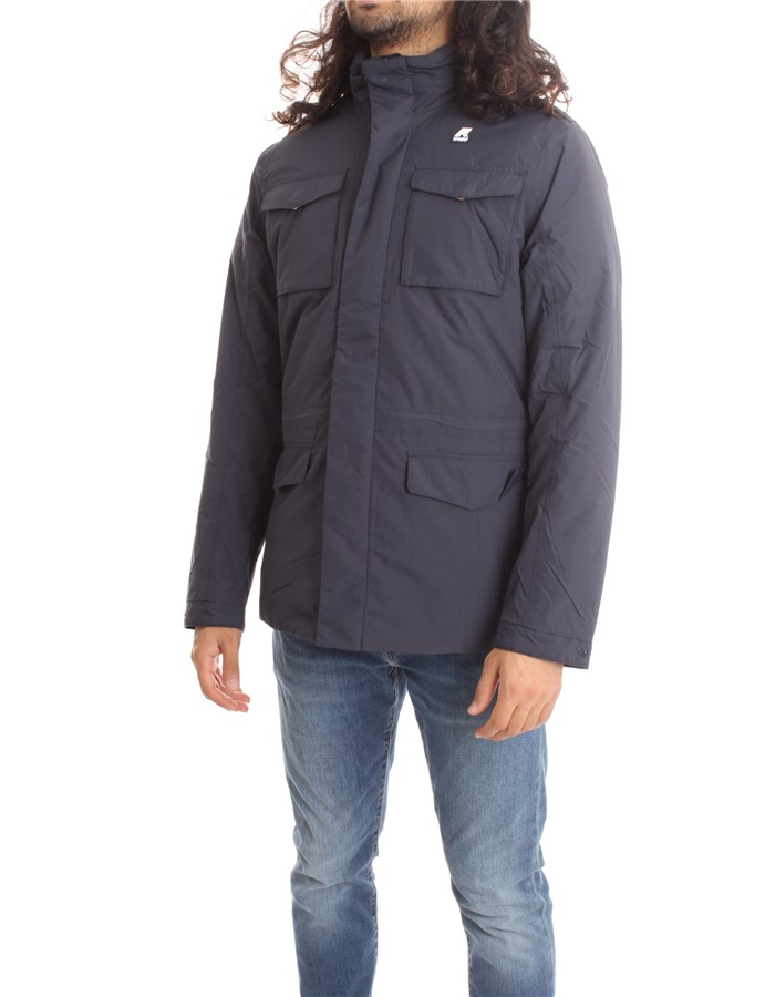 KWAY Jackets Short Men K1119NW M 1