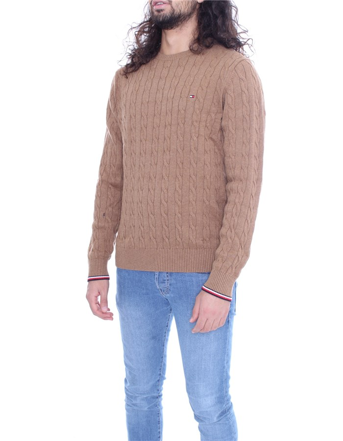 TOMMY HILFIGER Sweater Camel
