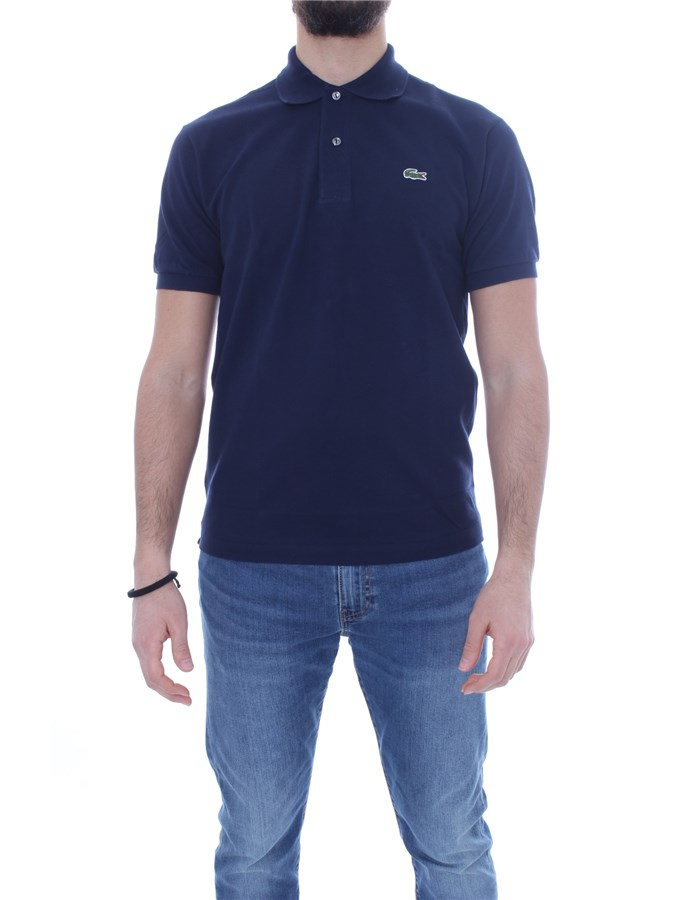 LACOSTE T-shirt Short sleeve 1212 Blue