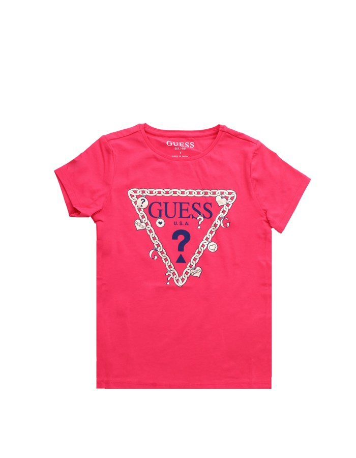 GUESS KIDS Short sleeve Coral