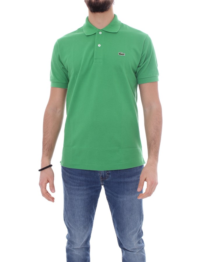LACOSTE T-shirt Short sleeve 1212 Cerfeuil green