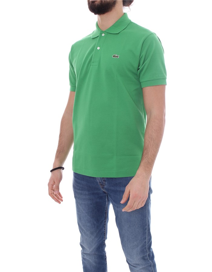 LACOSTE Short sleeve Cerfeuil green