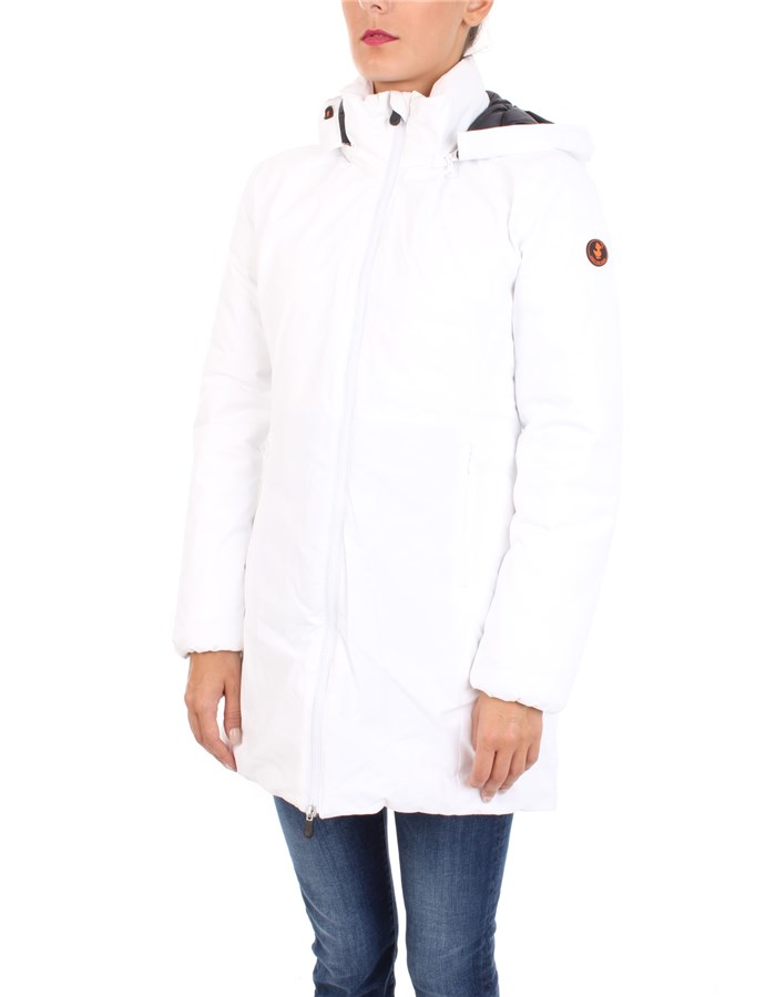 SAVE THE DUCK Coat White