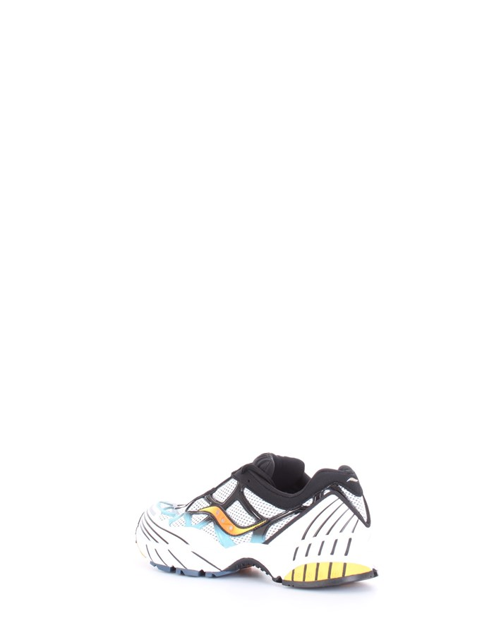 SAUCONY Sneakers White gray blue