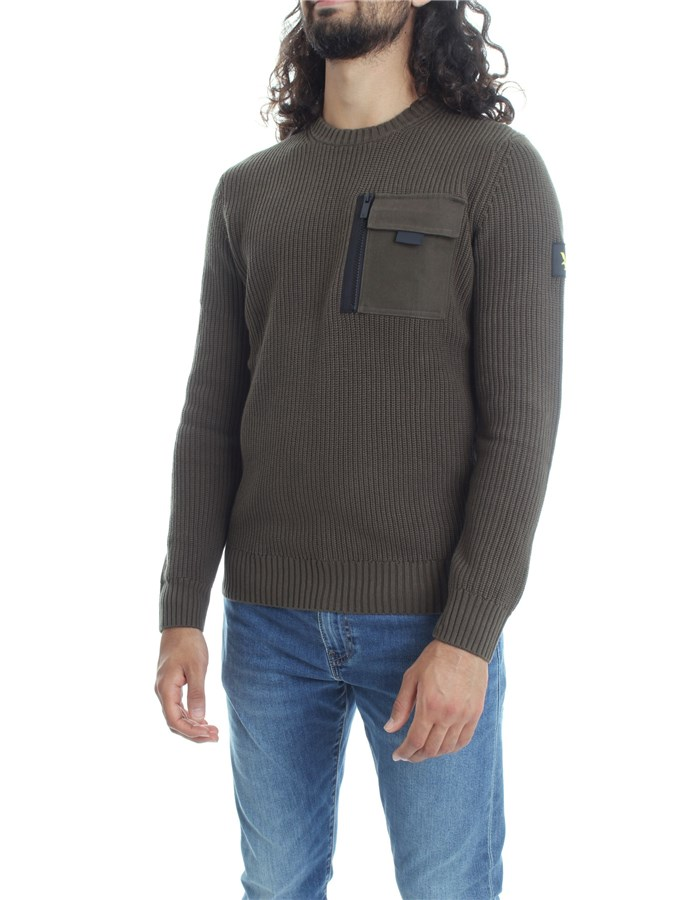 LYLE & SCOTT Vintage Sweater Military
