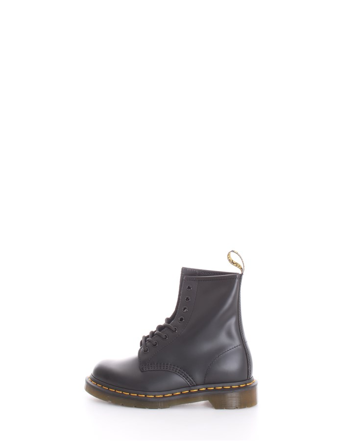 DR. MARTENS Boots Combat boots Unisex 1460 SMOOTH BLACK 0