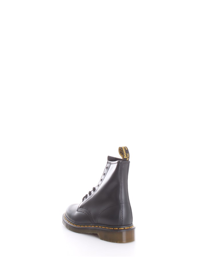 DR. MARTENS Boots Combat boots Unisex 1460 SMOOTH BLACK 2