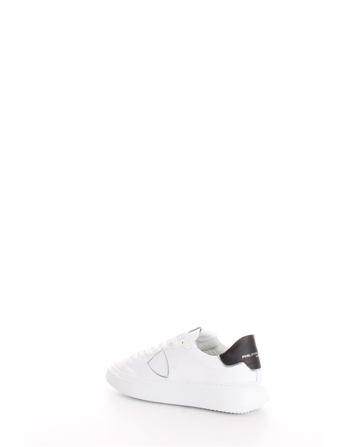 PHILIPPE MODEL Trainers White black