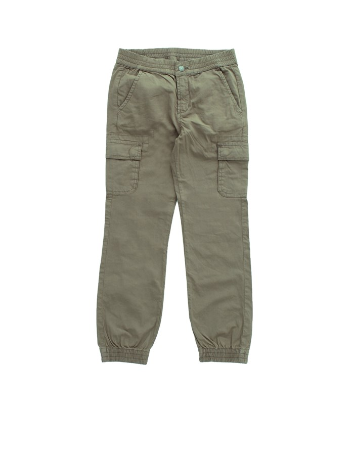 GUESS Trousers Cargo N1RB00WDSX0 Green