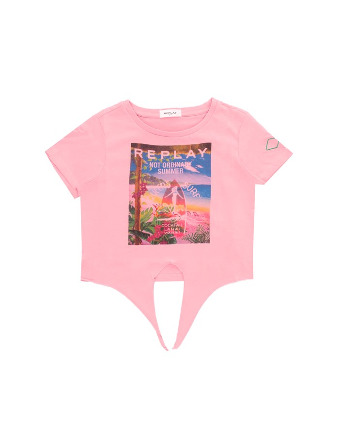 REPLAY KIDS T-shirt Rose