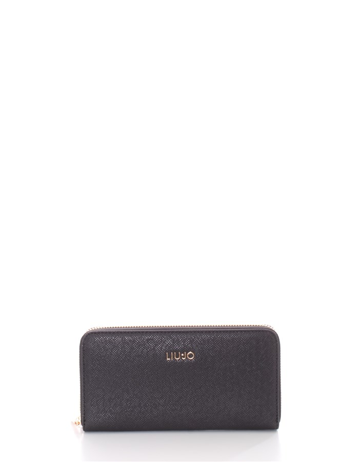 LIU JO Wallets With zip AA1176 E0087XL Black