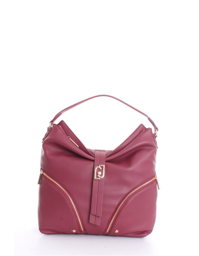 LIU JO shoulder bags Raspberry