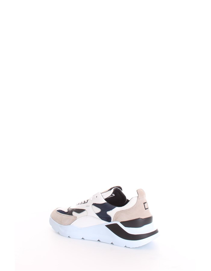 D.A.T.E. Trainers White blue