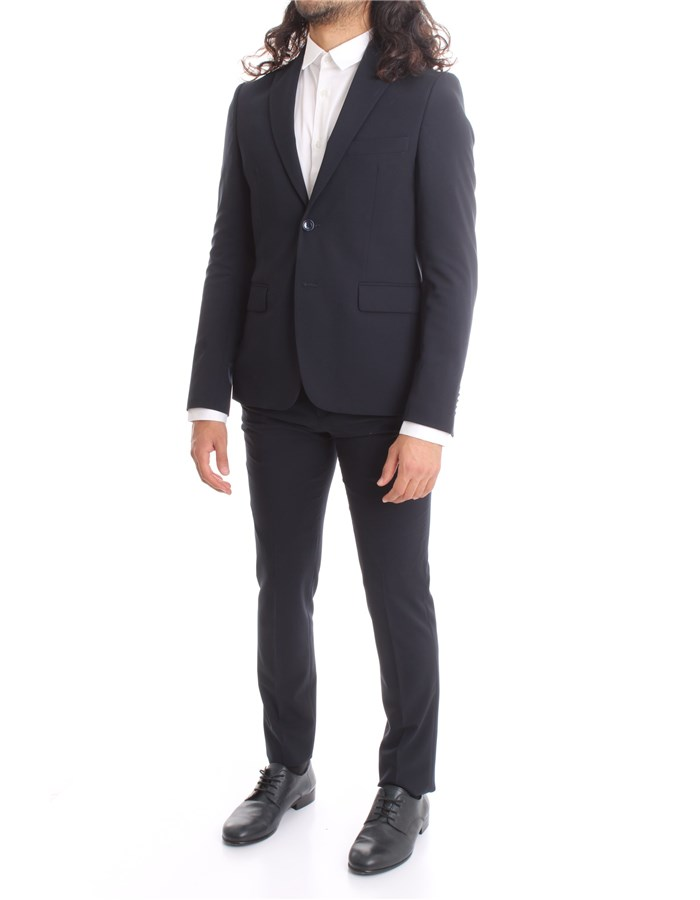 HAVANA & CO Single-breasted suits Blue
