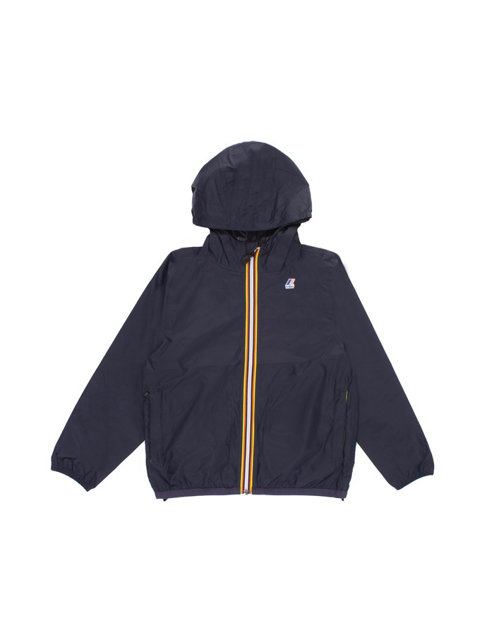 KWAY Jackets Short K004BD0J Blue