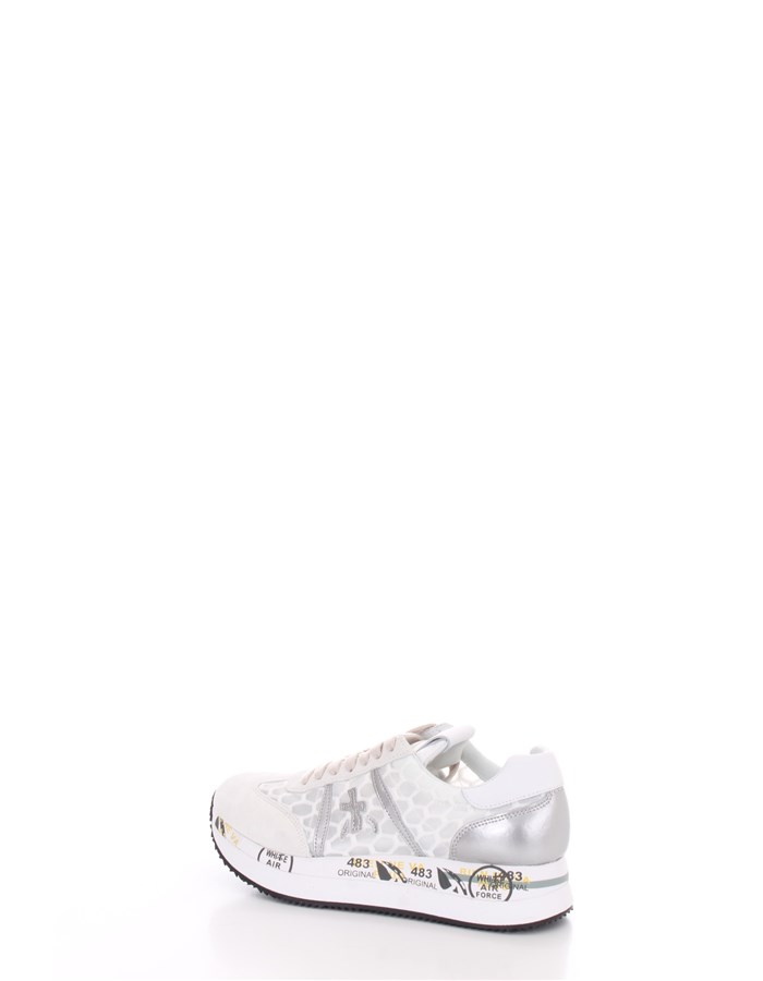 PREMIATA  low Transparent white