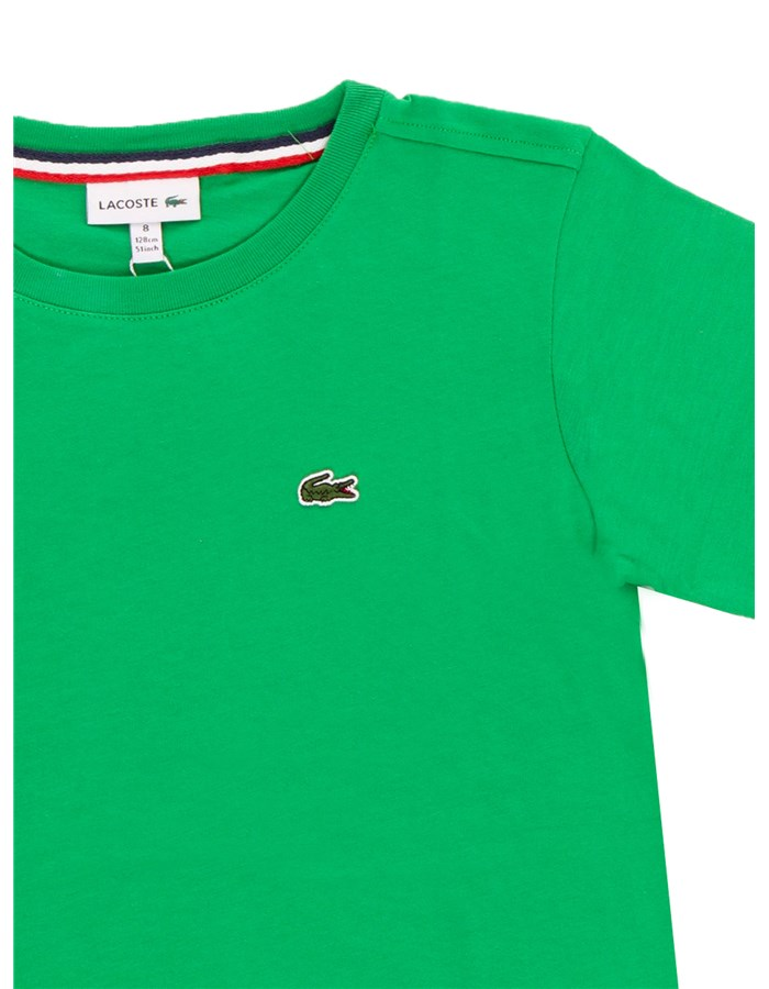 LACOSTE Short sleeve Green