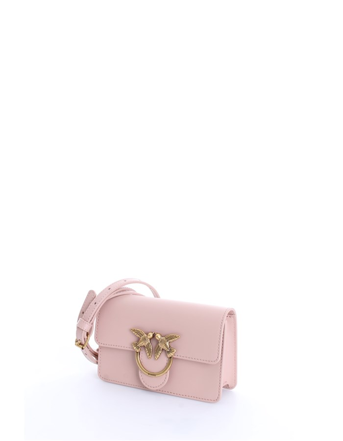 PINKO Shoulder Bags Light pink