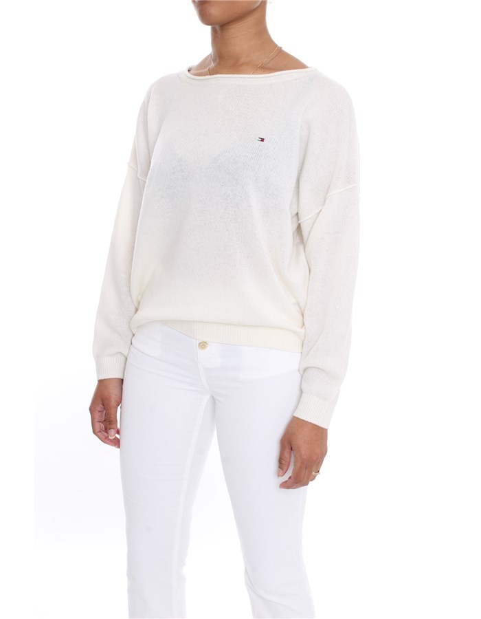 TOMMY HILFIGER Sweater White