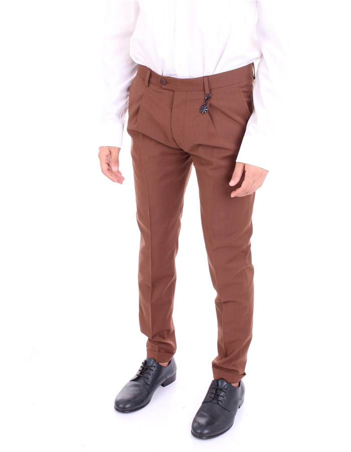 MANUEL RITZ Trousers Coccio