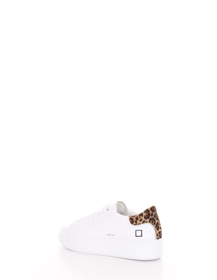 D.A.T.E.  low Leopard white