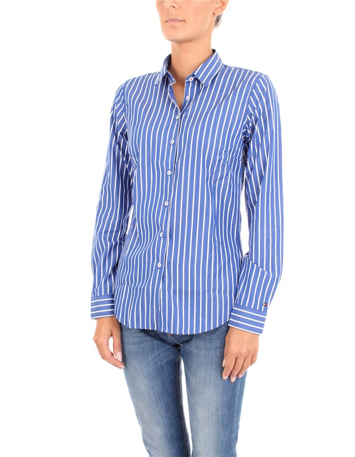 TOMMY HILFIGER Shirt Blue line