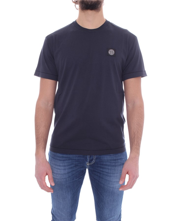 STONE ISLAND T-shirt Short sleeve 741524113 Blue