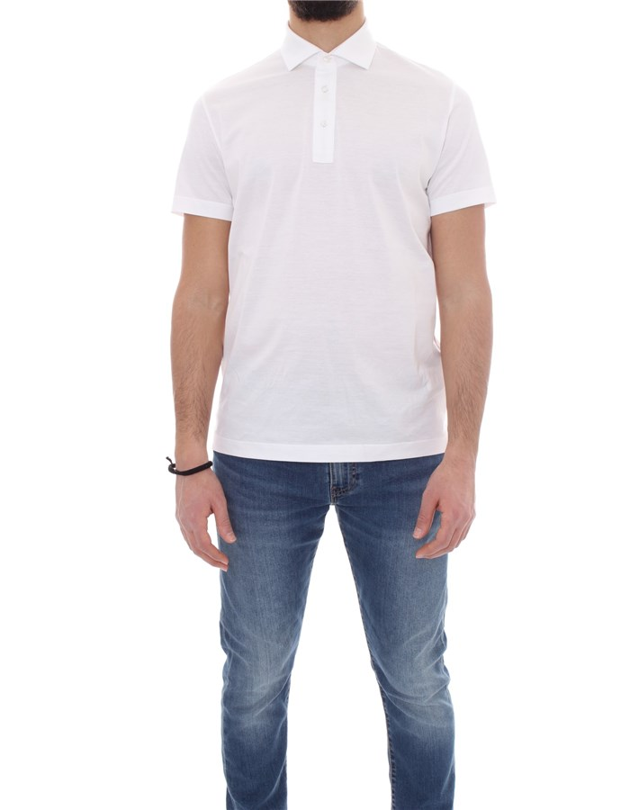 ALESSANDRO DELL'ACQUA Short sleeves White