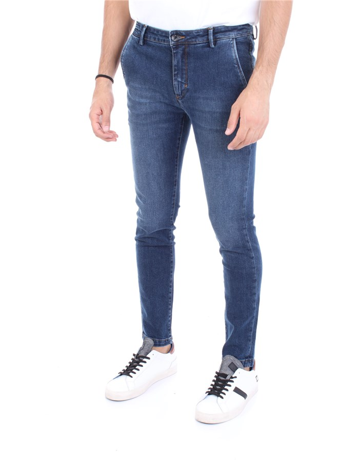 YAN SIMMONS Jeans Dark blue
