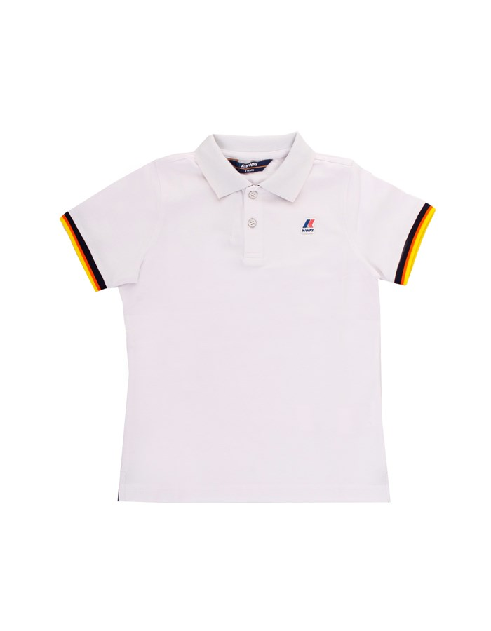 KWAY Polo shirt Short sleeves K008J50J White