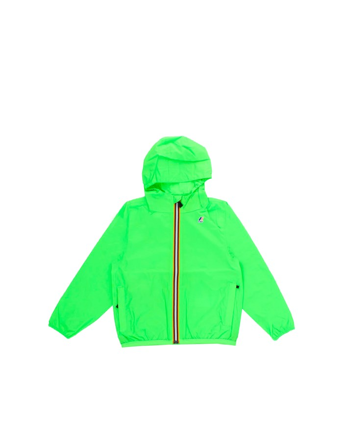 KWAY Jackets Short K004BD0J Green