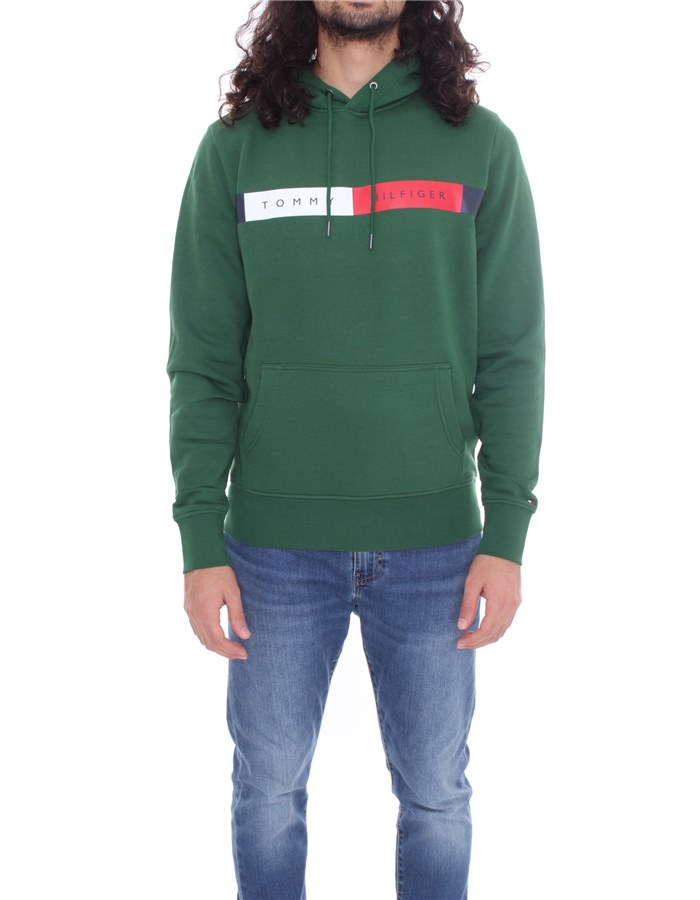 TOMMY HILFIGER Hoodies Green