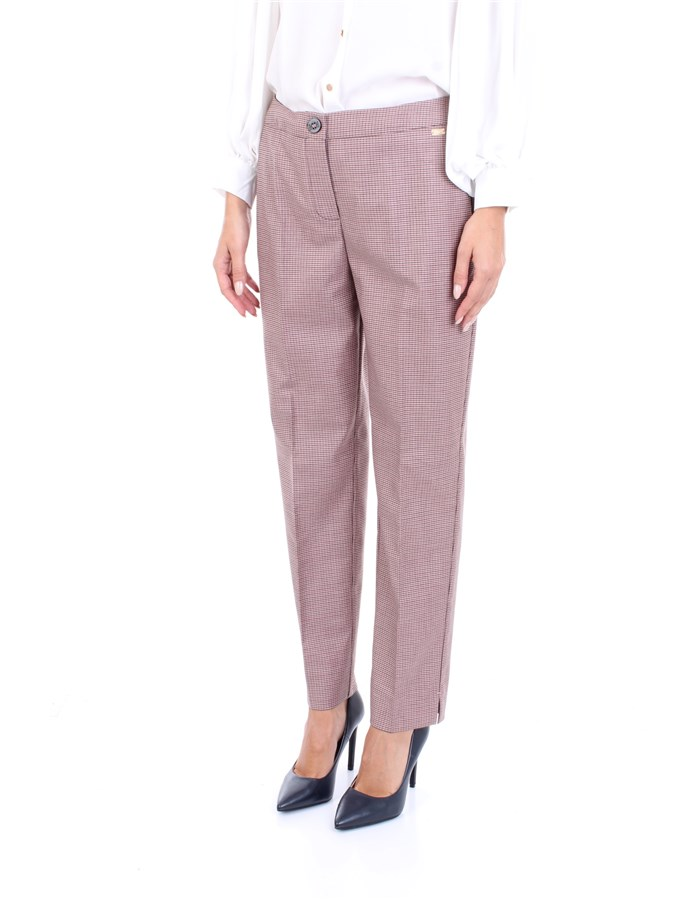 NENETTE Trousers Bordeau
