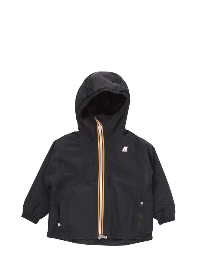 KWAY Jackets Short K1119WW Black as well