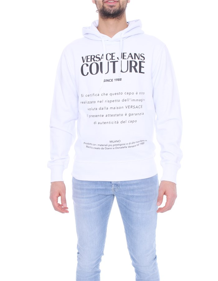 VERSACE Hoodies White