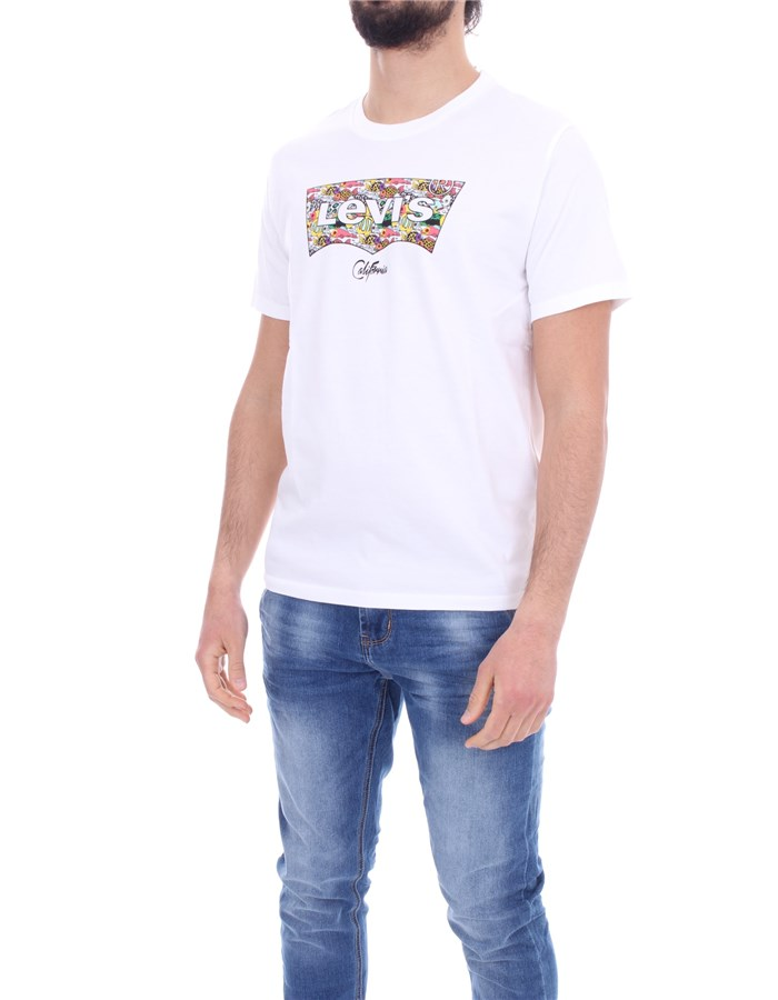 LEVI'S T-shirt White fish