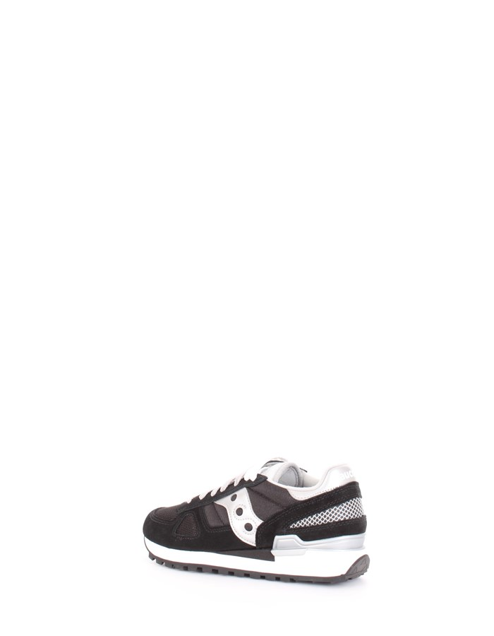 SAUCONY Sneakers Black silver