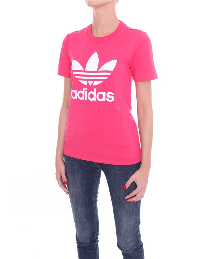 ADIDAS Short sleeve Power pink