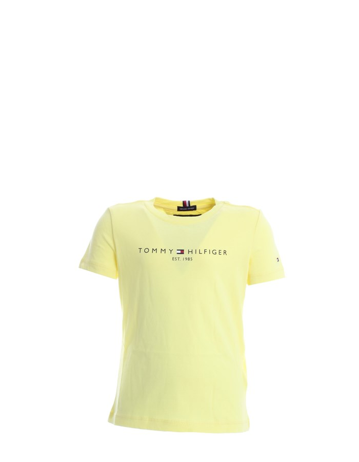 TOMMY HILFIGER Short sleeve Yellow