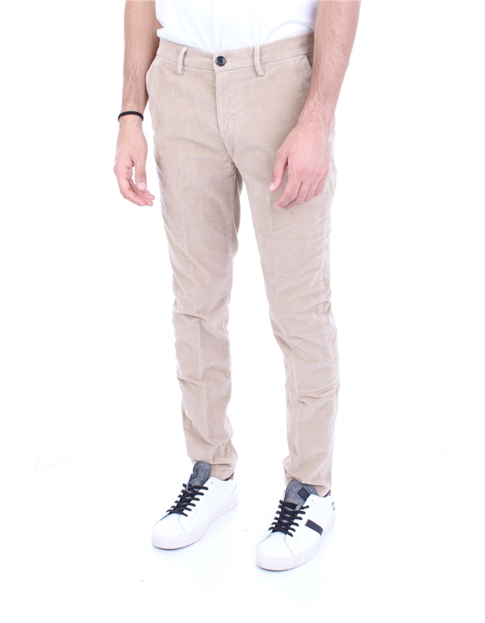 YAN SIMMONS Trousers Beige