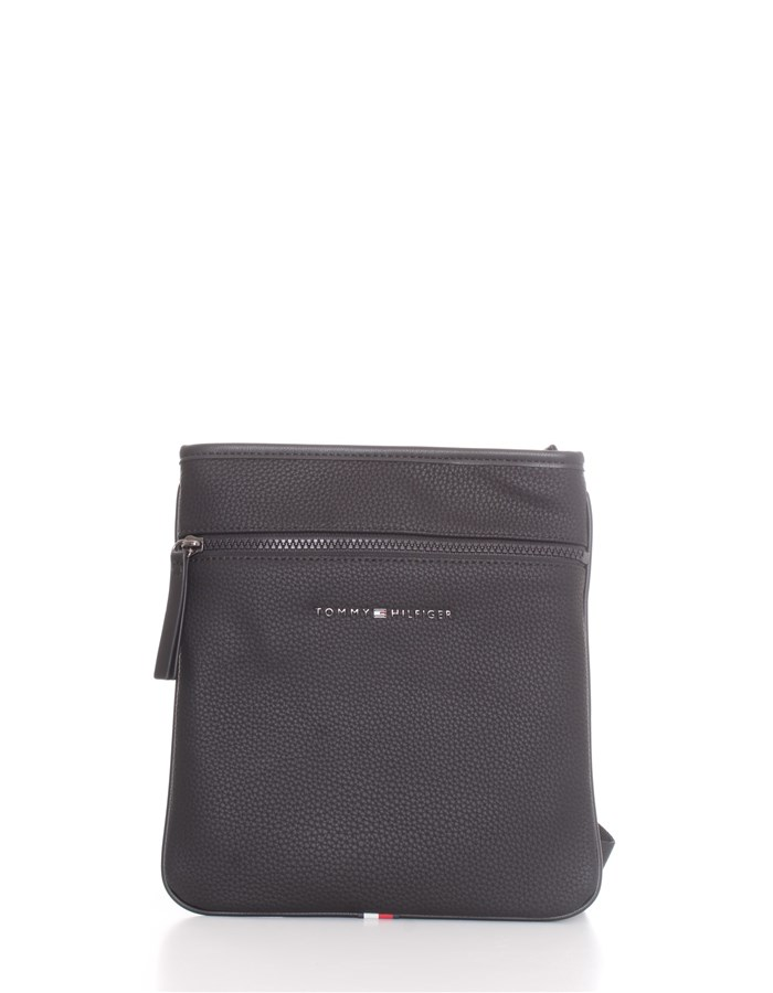TOMMY HILFIGER Shoulder straps & Messenger Black
