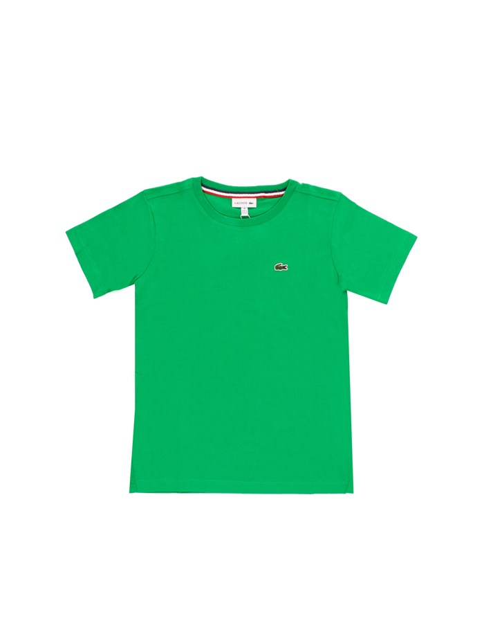LACOSTE T-shirt Short sleeve TJ1442 Green