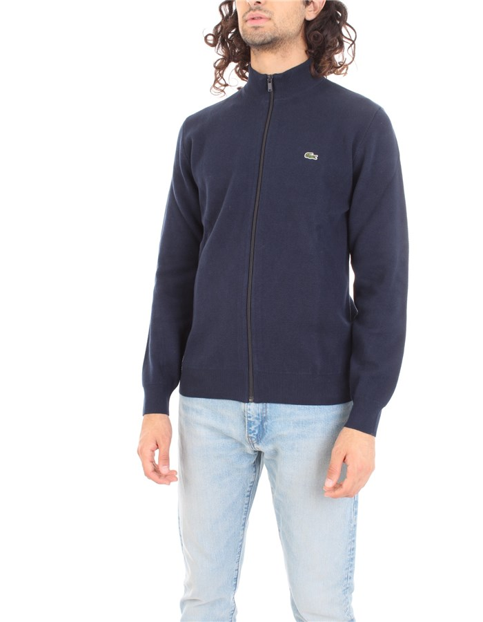 LACOSTE Sweater Marine