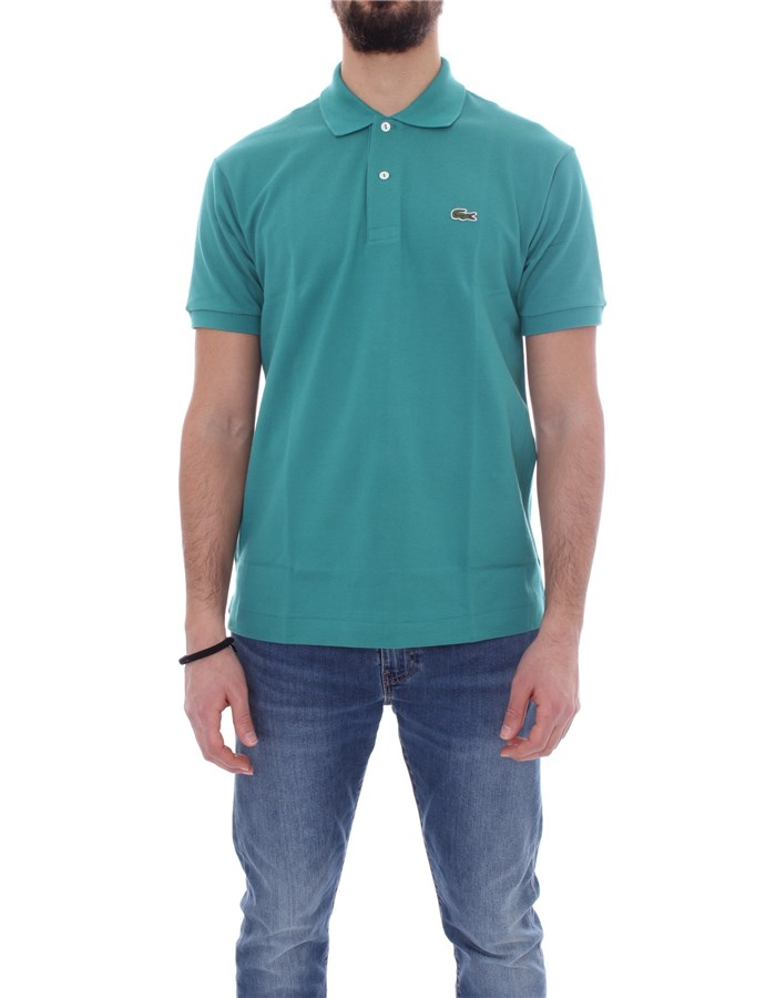 LACOSTE T-shirt Short sleeve 1212 Green bailloux