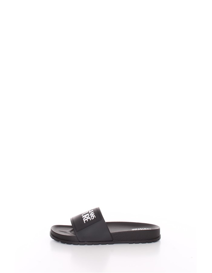 VERSACE slippers Black