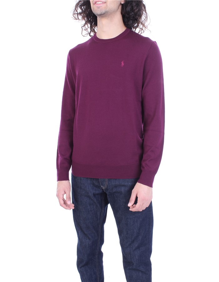 RALPH LAUREN Sweater Bordeau